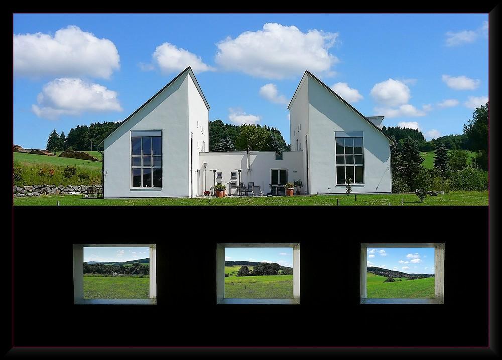 Haus auf dem Berg