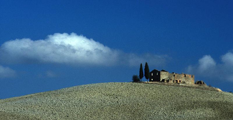 Haus auf dem Hügel