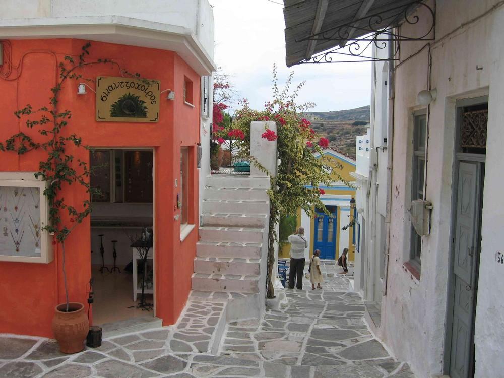 Haus auf Santorini