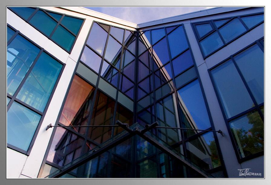 Haus Aus Glas Foto Bild Experimente Gespiegelt Soest