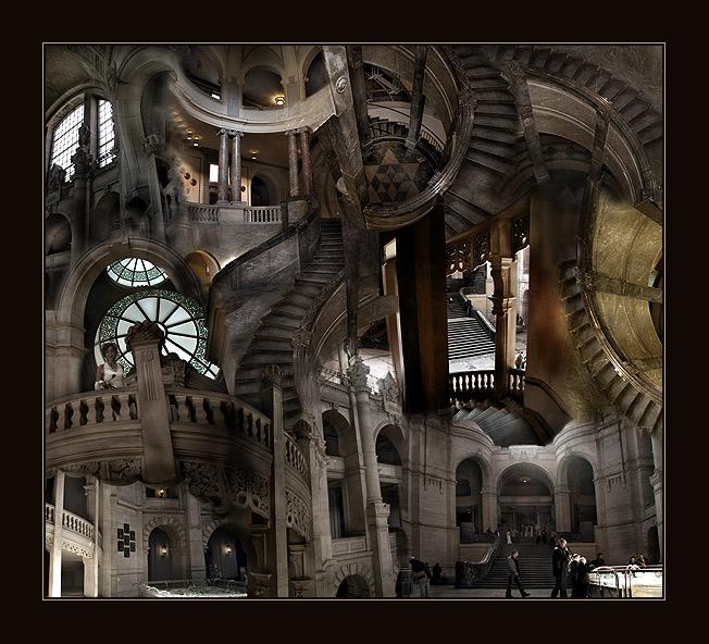 Haus, Das Escher Gebaut Hat... Foto & Bild