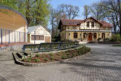 Haus des Gastes mit Konzertmuschel Bad Liebenwerda