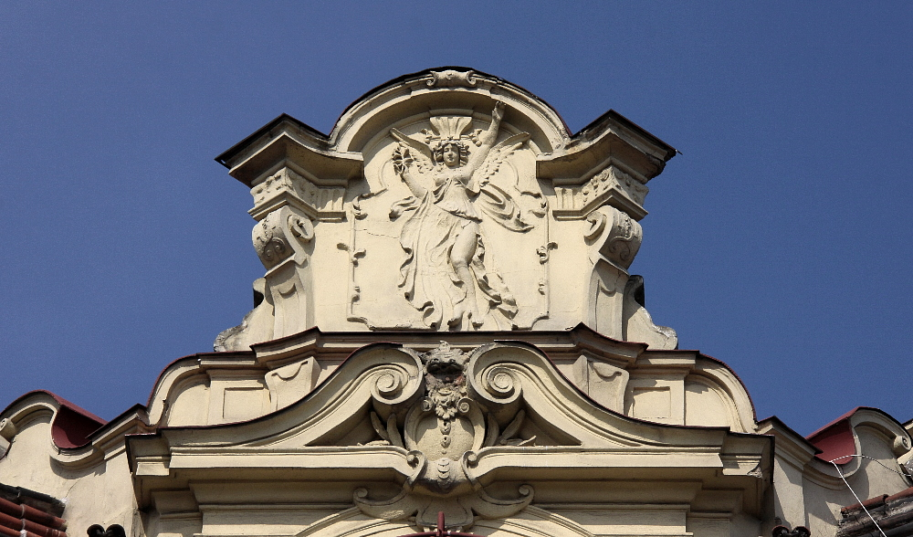 Haus-Ecke [Detail]