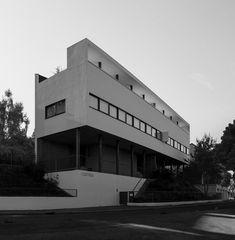 Haus Le Corbusier Im Weissenhof s/w