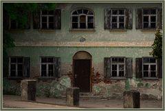 Haus mit Patina