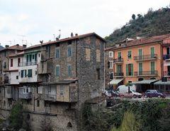 Hausansicht in der Nähe der Ortschaft Pigna