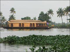 Hausboot auf den Backwaters