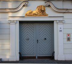Hauseingang im Holländerviertel in Potsdam