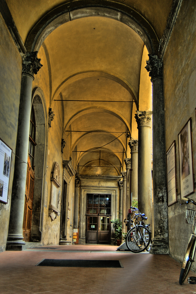Hauseingang in Pisa