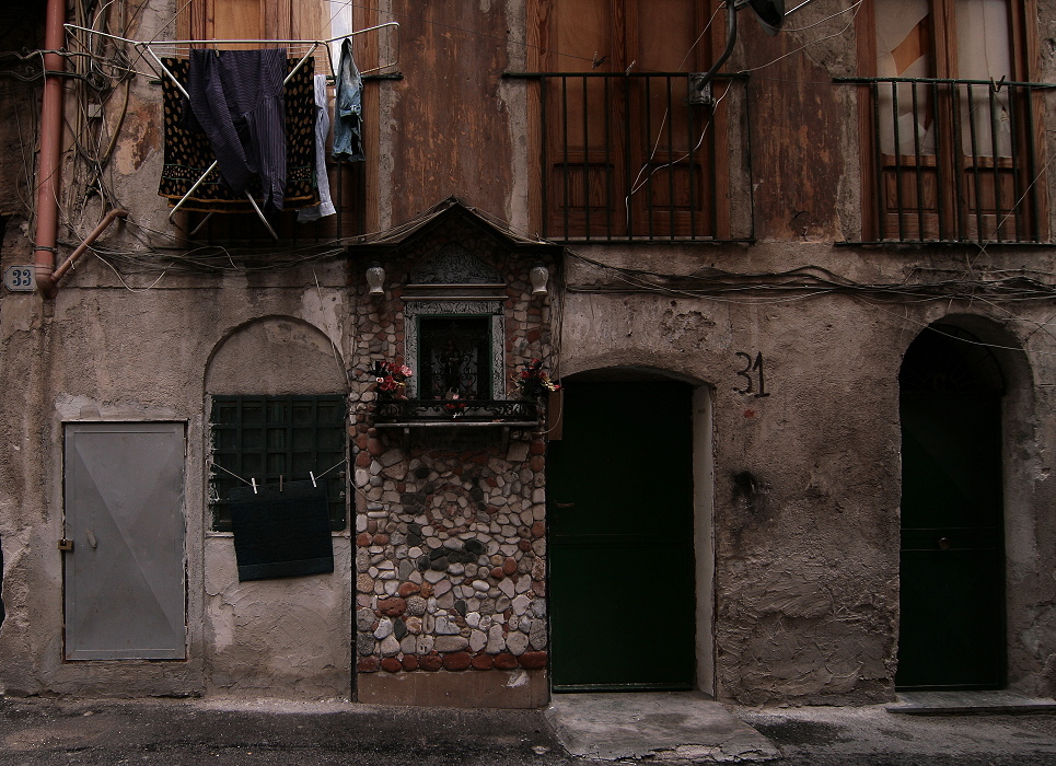 Hausnr. 31, irgendwo in Palermo