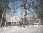 Haus+Schnee=Winter