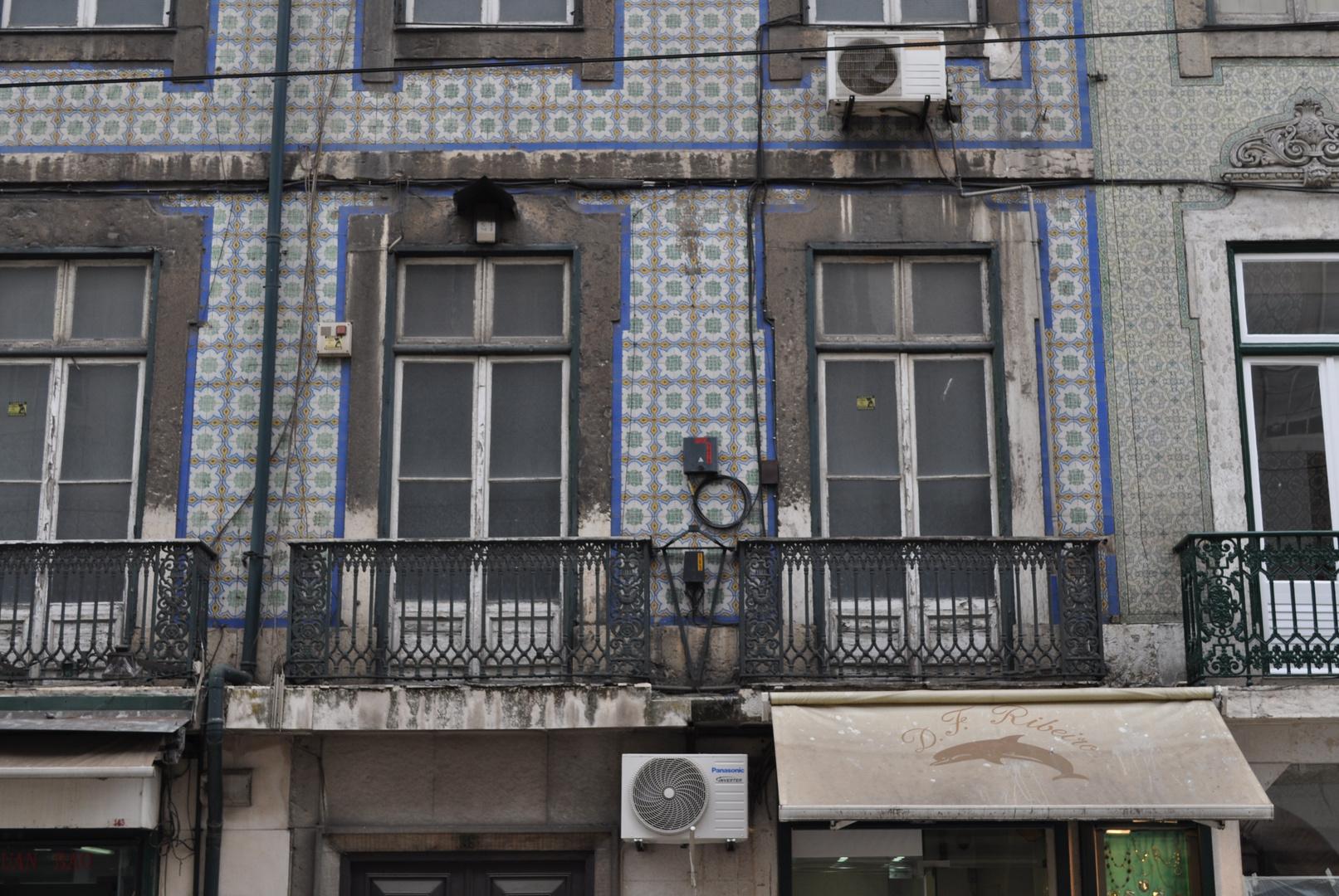 Haustechnik auf Fassade