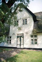 Haustür in Keitum / Sylt 1993