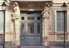 Haustuer in Potsdam