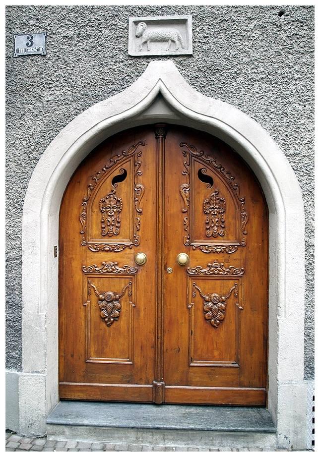 Haustüre in Feldkirch