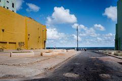 Havanna 2019 - Schneise am Malecon
