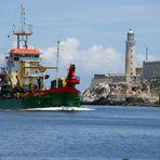 Havanna Hafeneinfahrt
