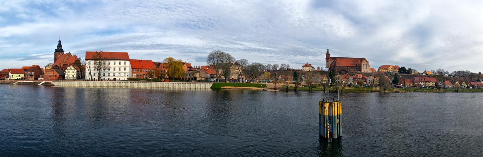 Havelberg Sicht zur Altstadt