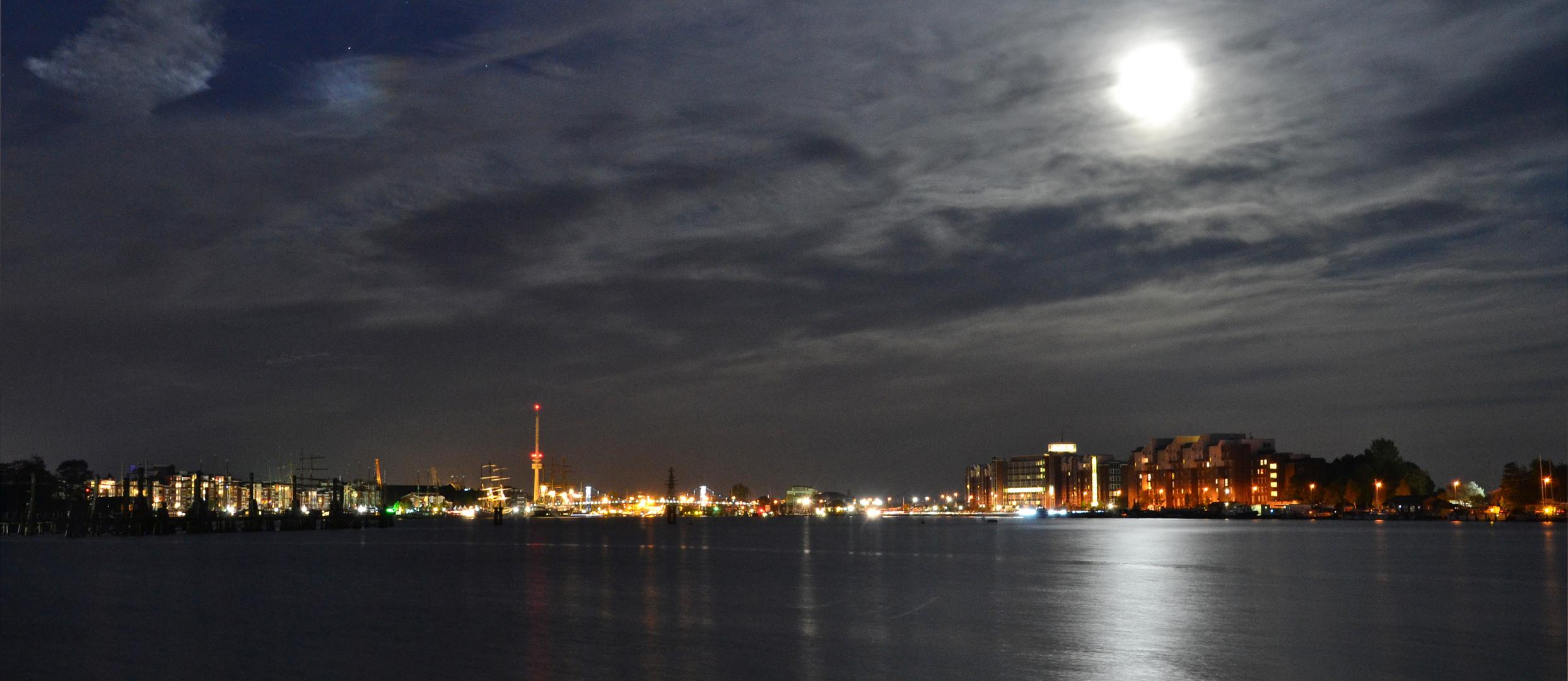 Haven-Skyline (von Wilhelmshaven)