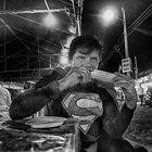 Having Dinner with Superman In Costa Rica