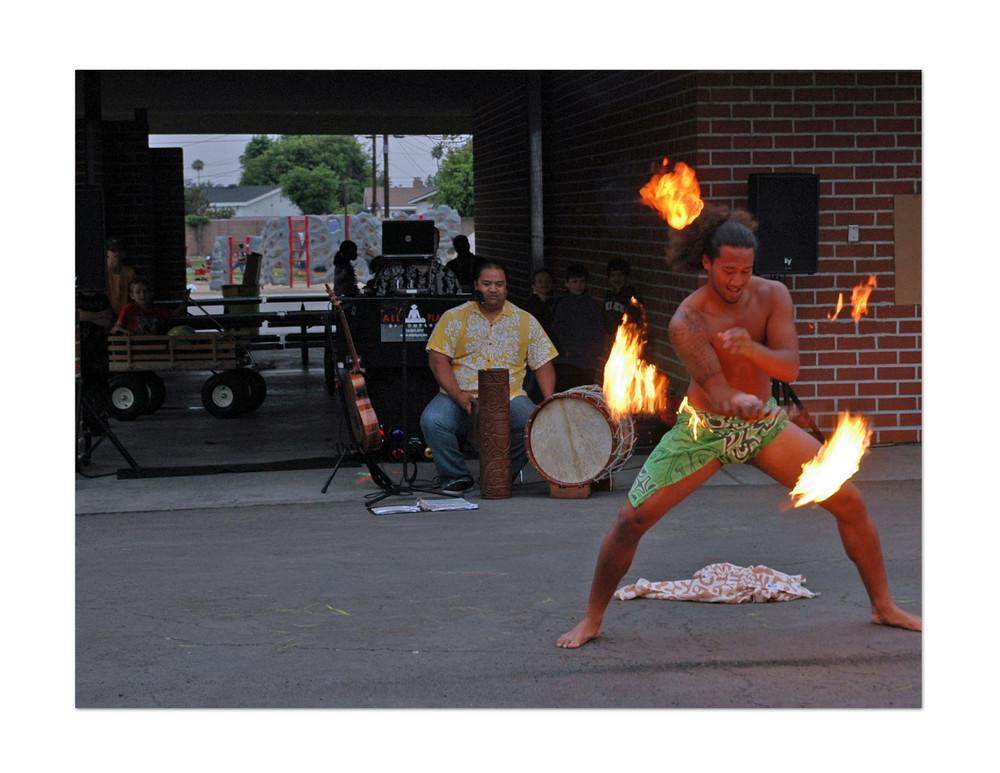 Hawaiian Fire Dancer