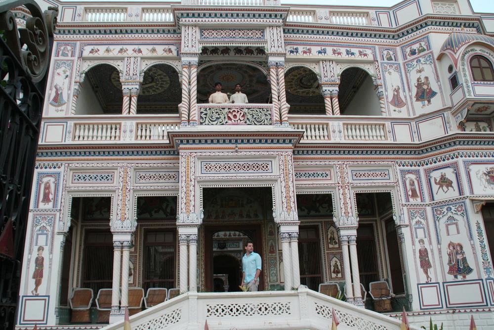 Haweli in Mandawa Rajasthan India