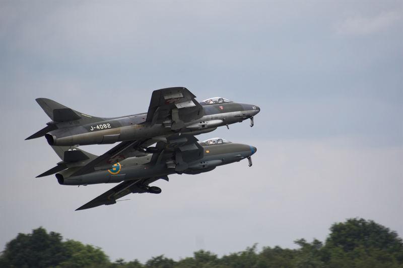 hawker hunter takeoff