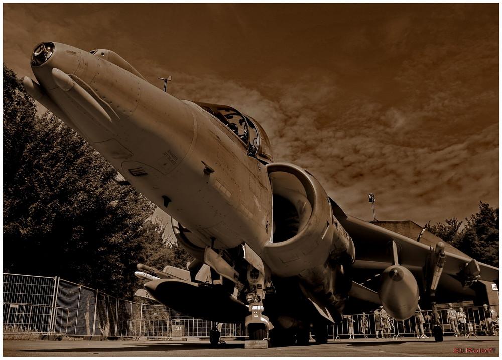 Hawker Siddeley Harrier   Open Dagen in Leeuwarden (Niederlande)