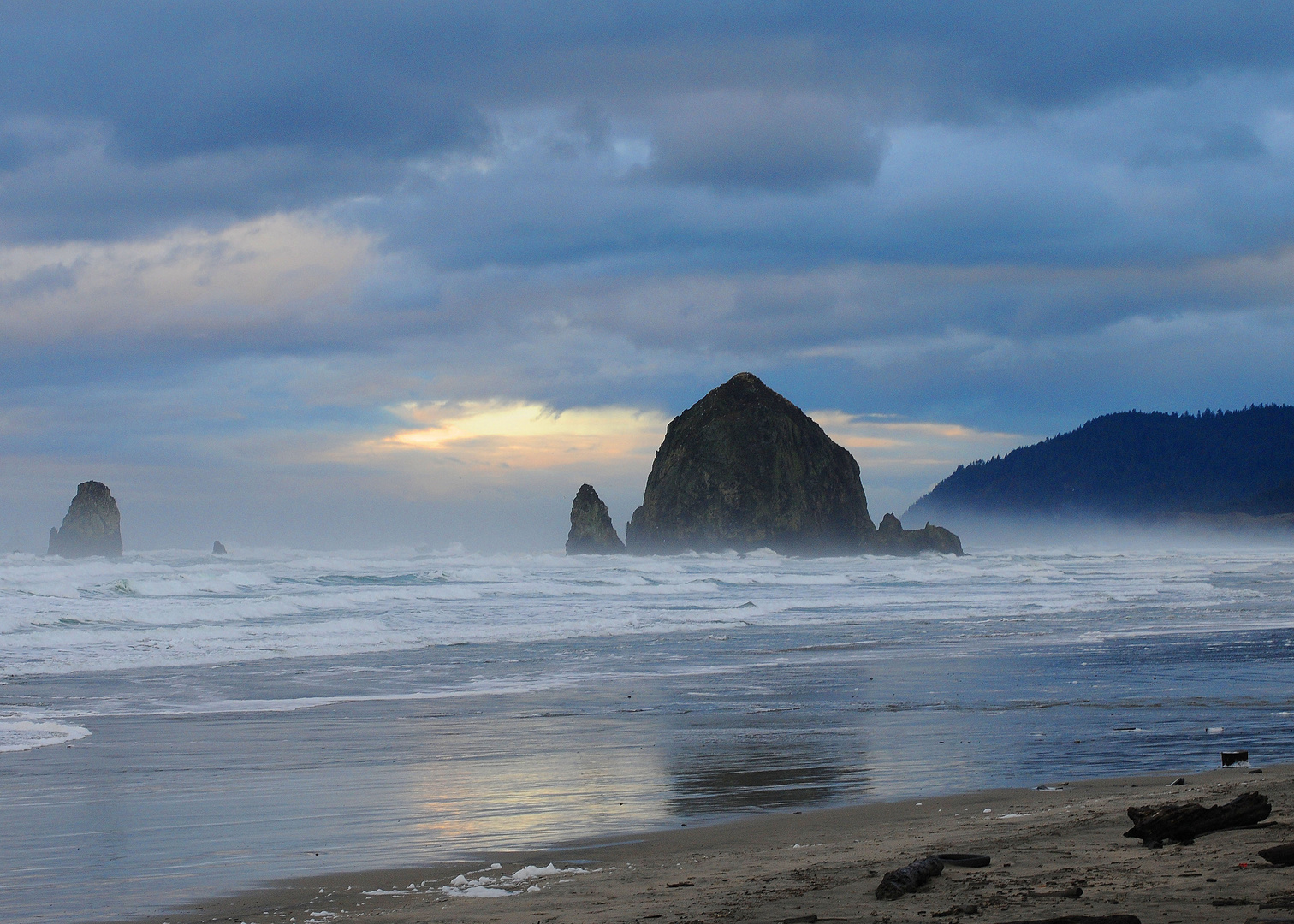 """""""Haystack"""" at Cannon Beach, OR"""