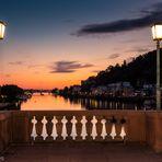 HD-Sonnenuntergang auf der Alten Brücke
