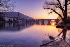 HD - Sonnenuntergang im Winter