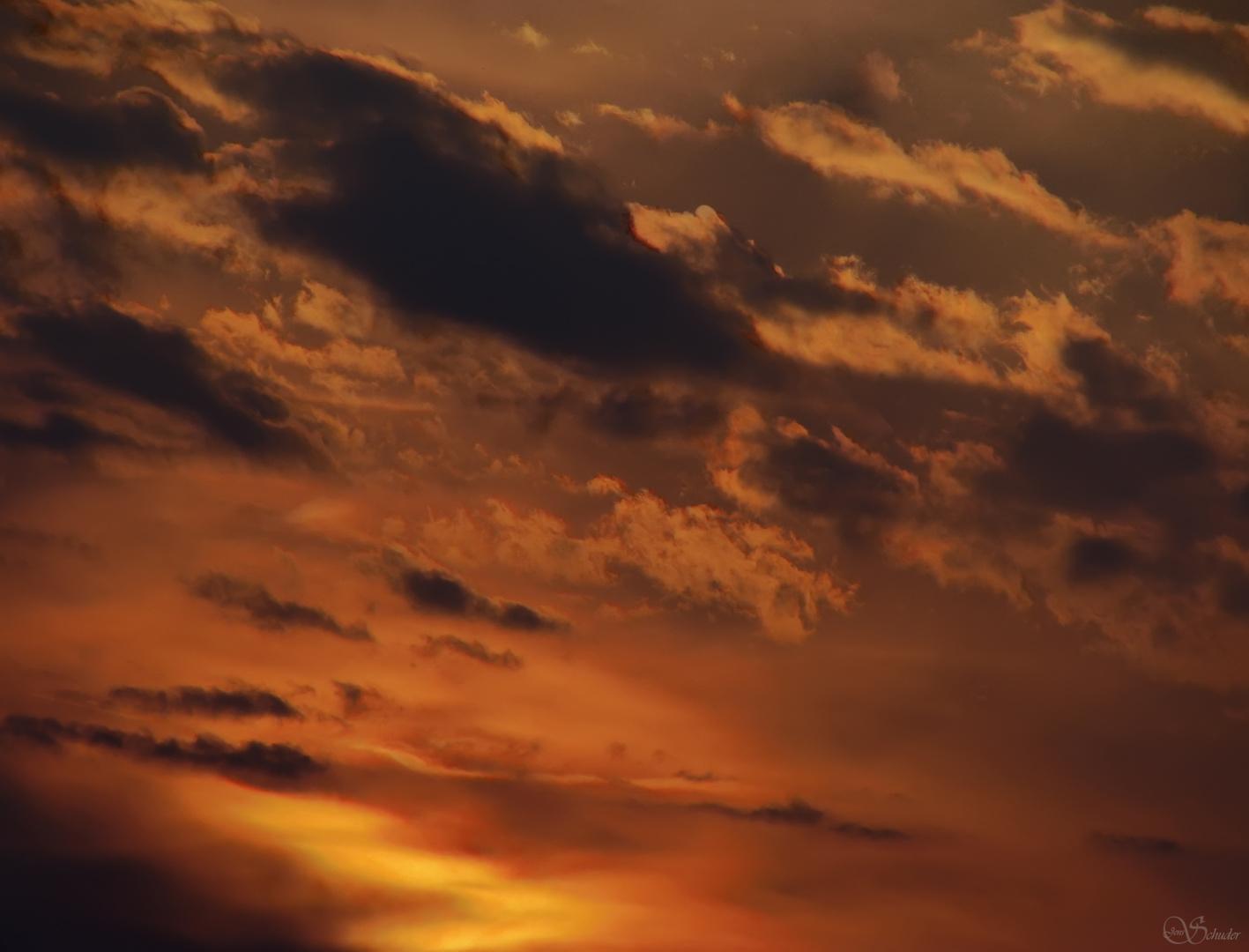 HDR Abendhimmel
