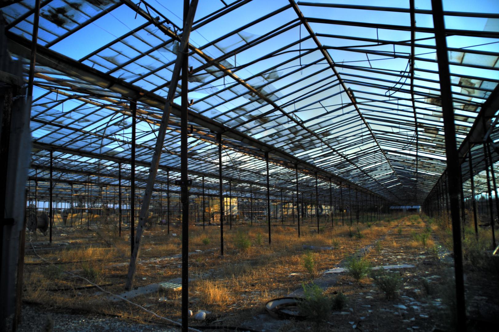 Hdr Aufnahme Altes Gewachshaus Rhodos Foto Bild Architektur