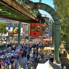 HDR Bild vom Weltgrößten Eintageströdelmarkt in Wuppertal
