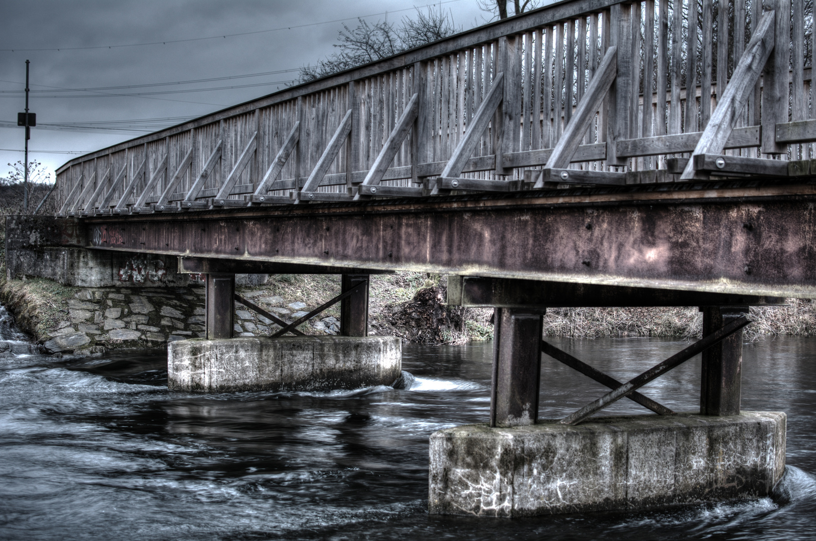 hdr Brücke