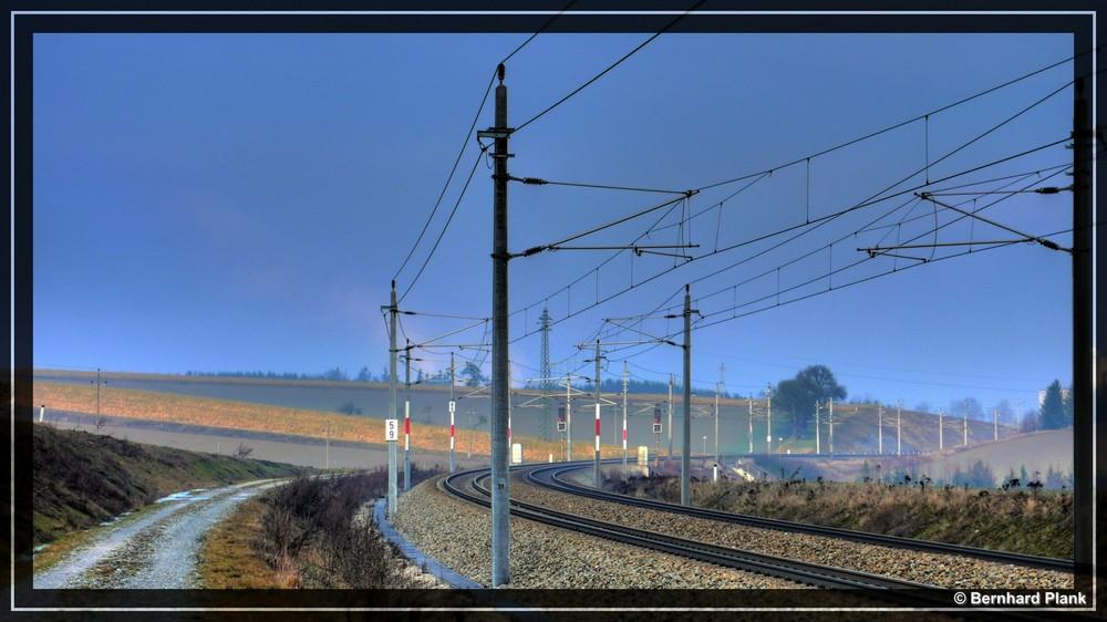 HDR Eisenbahnlinie