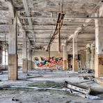 HDR Industrie Ruine