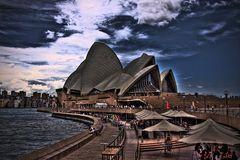 HDR Opera House Sydney