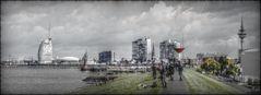 HDR Panorama von Bremerhaven