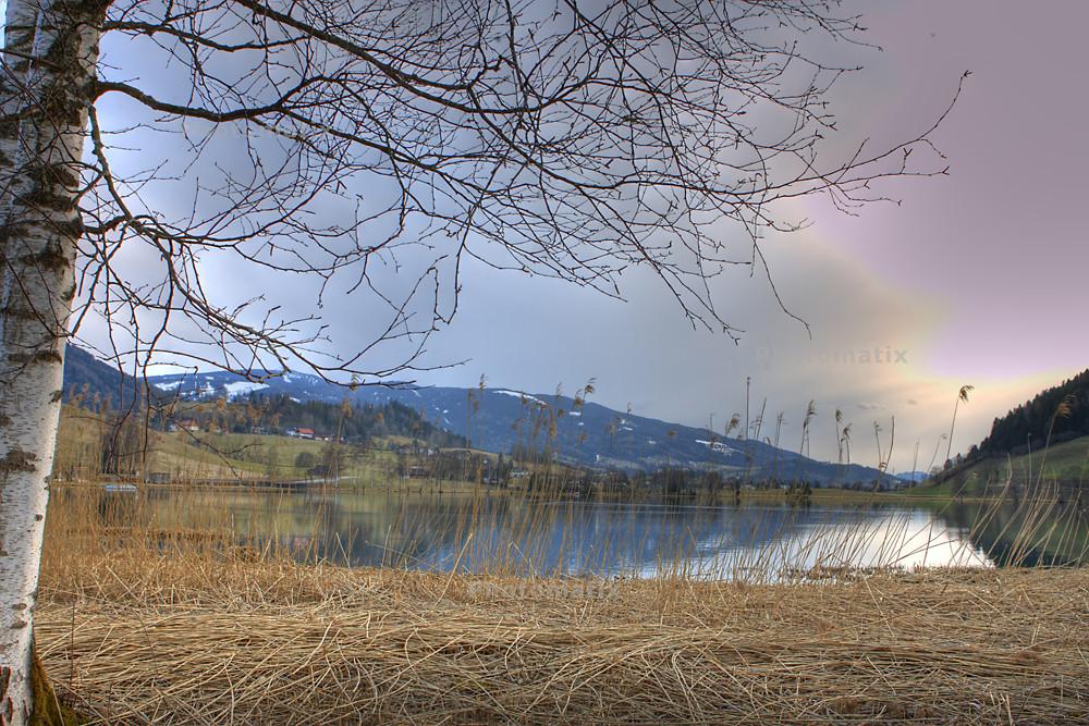 HDR - Putterersee in der Steiermark (Österreich)