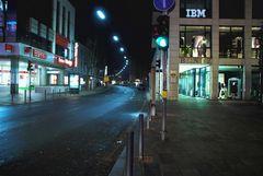 HDR-Saarbrücken Innenstadt bei Nacht