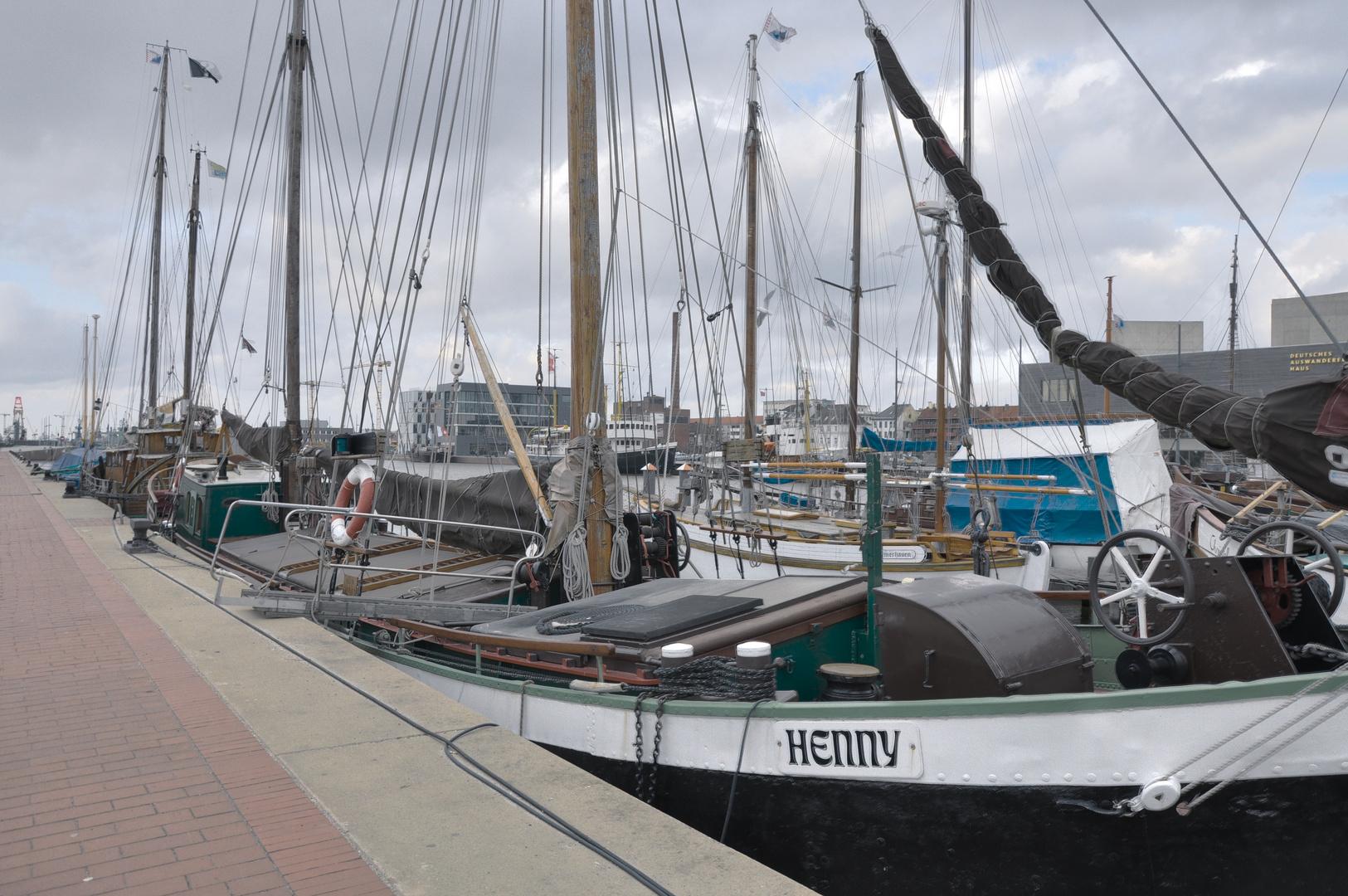 HDR - Segelschiffe