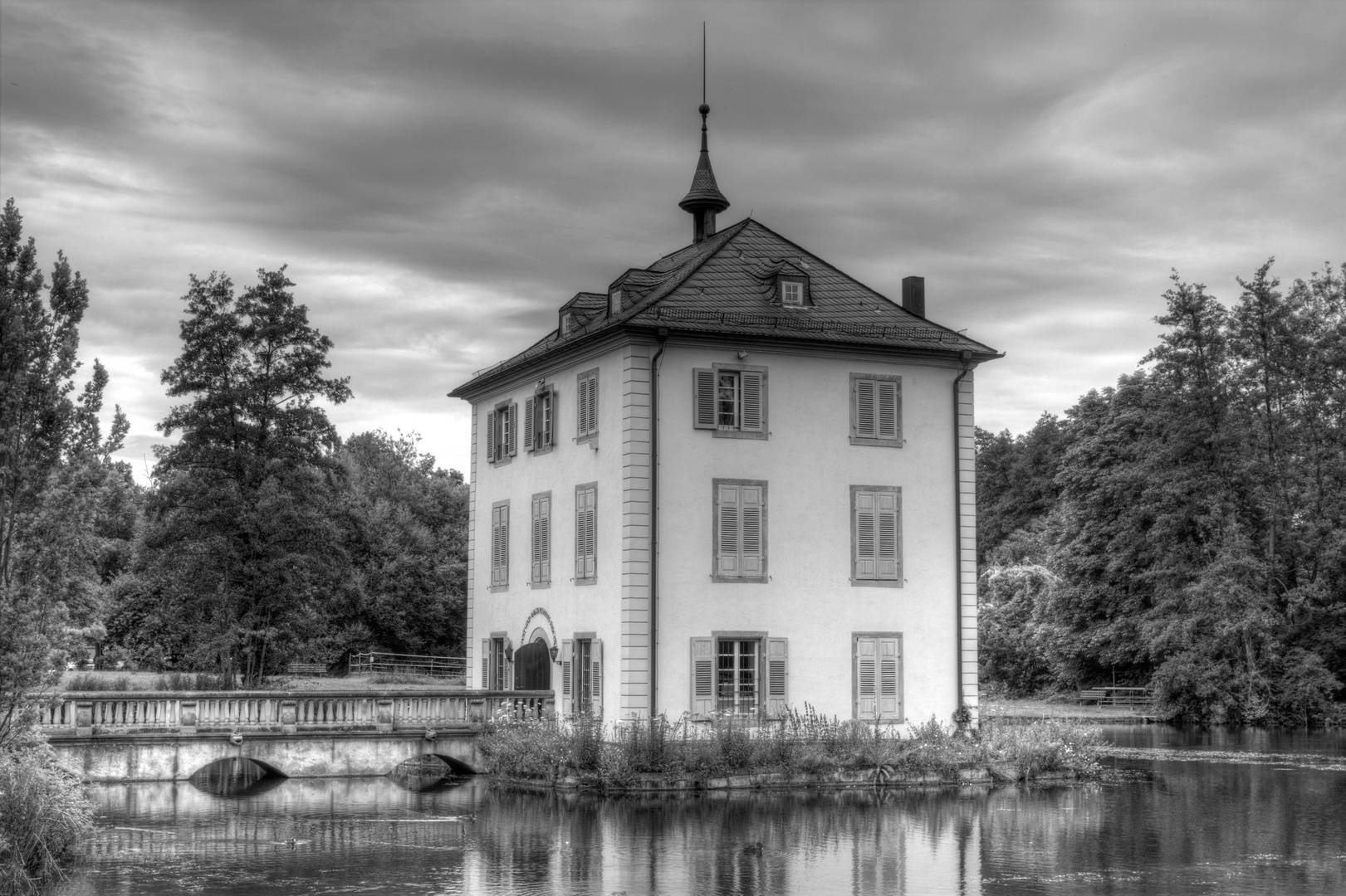 HDR Trappensee / Kunsthaus