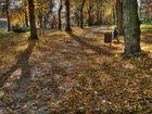 HDR vom Park am Carl-von-Bach-Gymnasium Stollberg