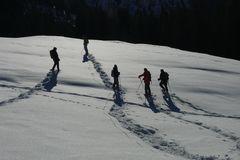 HDV: Schneeschuhwanderer von HDV