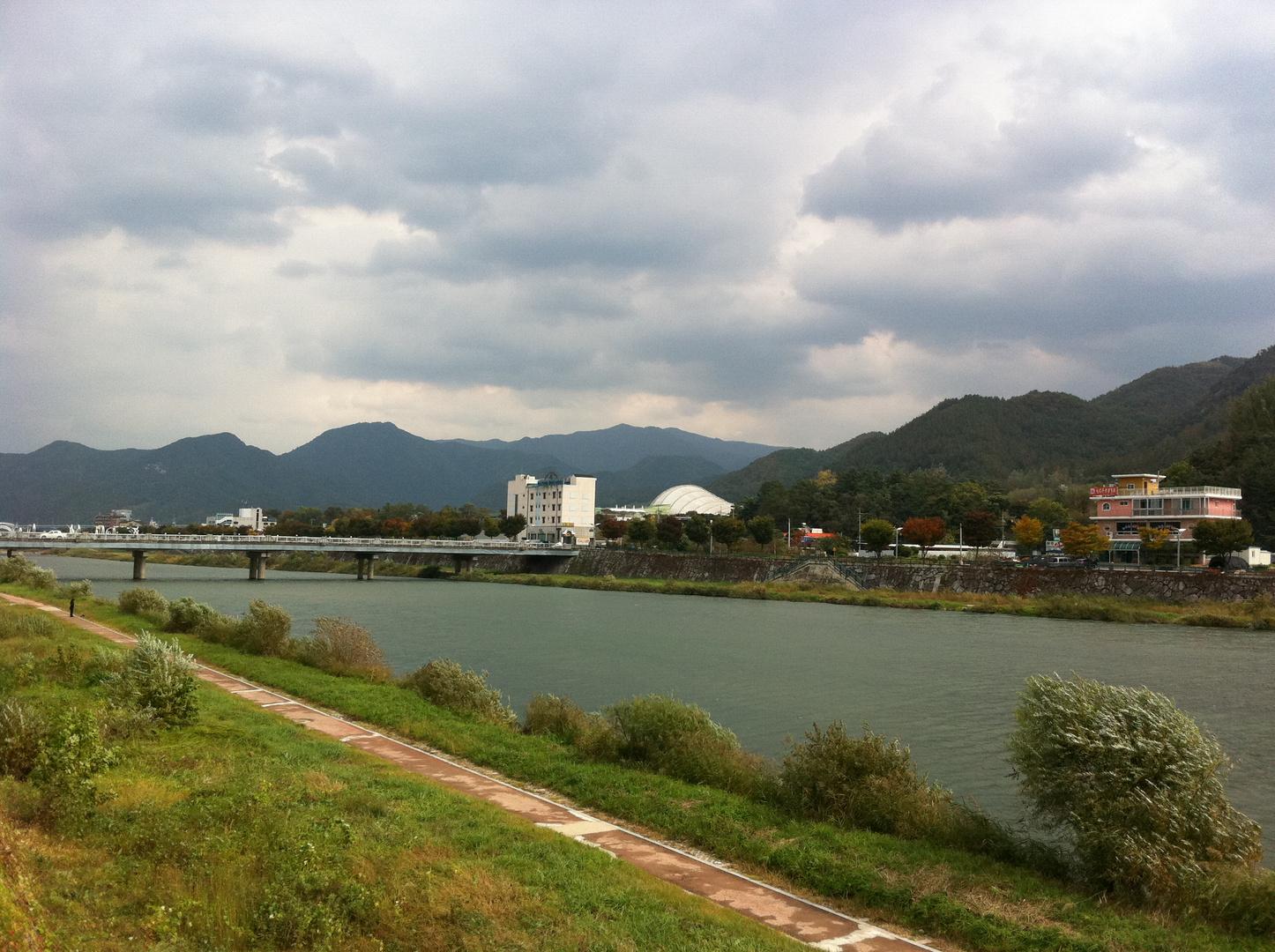 Healing Körper und Geist von Spannungen - Muju, Südlichen Hemisphäre von Südkorea.
