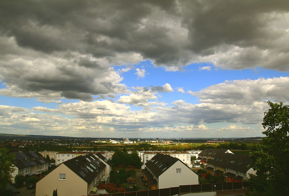 heavy clouds