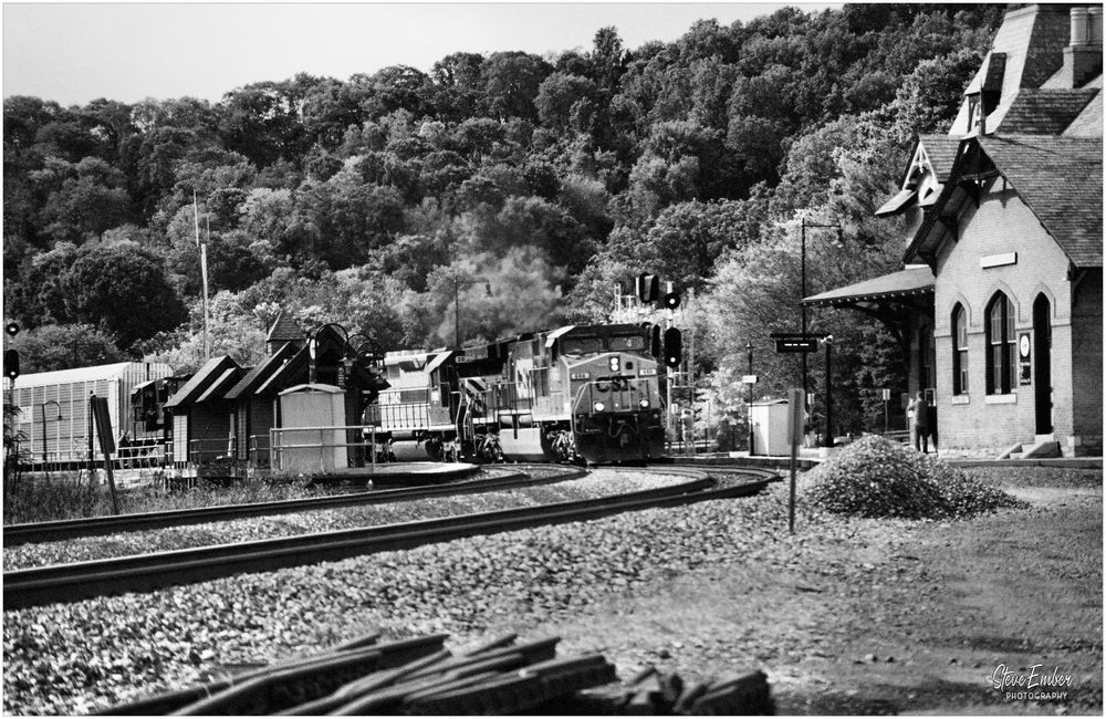Heavy Hauling at Point of Rocks