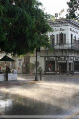 heavy rainfall on Key West...