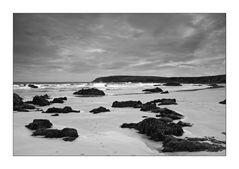 Hebridean Tour:  Ness Beach (b/w)